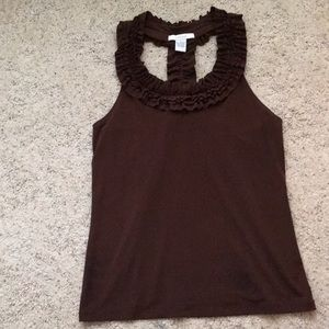 Classy dressy tank with open back
